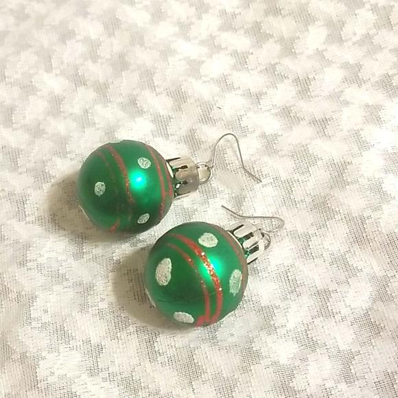 5/$20** Christmas Ornament Earings